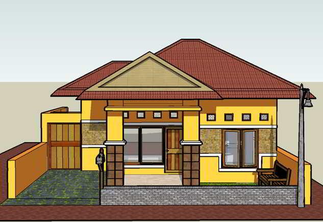 Contoh Rumah Sederhana 3 Kamar Suka Rumah Minimalis